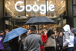 The Google offices in Granary Square, London where some members of staff staged a walkout as a part of a protest over the company's treatment of women.