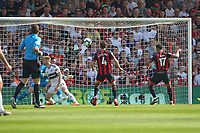 Football - 2018 / 2019 Premier League - AFC Bournemouth vs. Fulham<br /> <br /> Bournemouth's Joshua King fire over the bar from close range during the Premier League match at the Vitality Stadium (Dean Court) Bournemouth  <br /> <br /> COLORSPORT/SHAUN BOGGUST