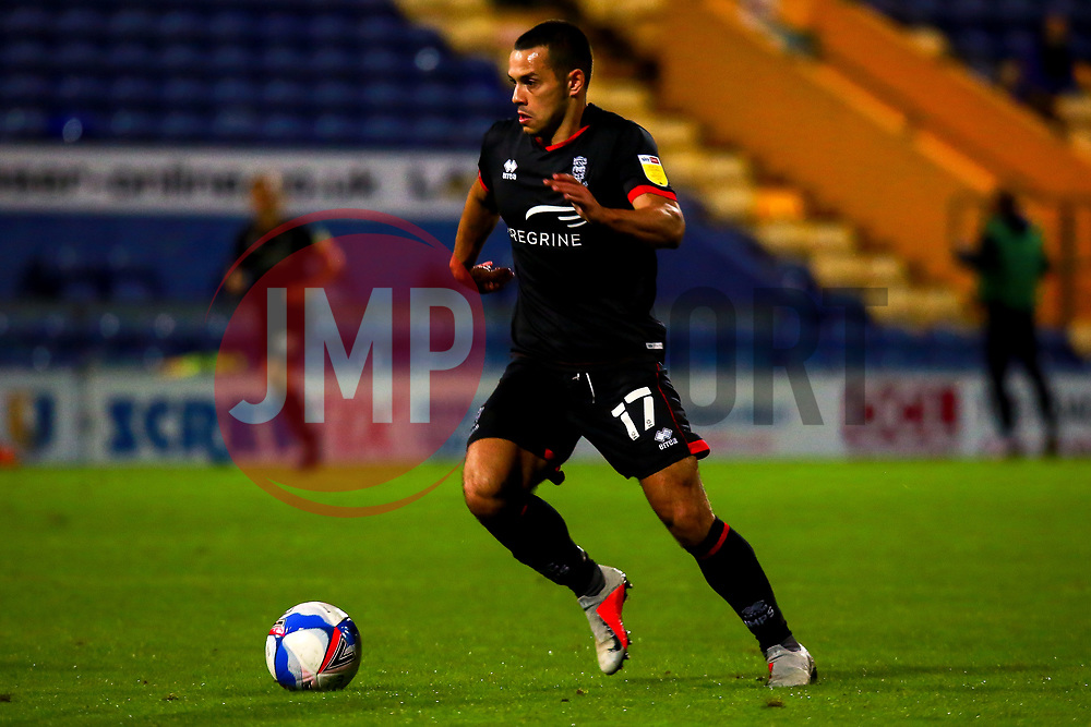 Remy Howarth of Lincoln City - Mandatory by-line: Ryan Crockett/JMP - 06/10/2020 - FOOTBALL - One Call Stadium - Mansfield, England - Mansfield Town v Lincoln City - Leasing.com Trophy
