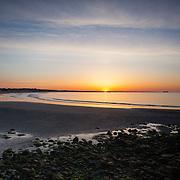 Today's  sunrise  at Narragansett Town Beach, Narragansett, RI,  May  28, 2013. #Sunrise #RhodeIsland #Beach #Surf #401