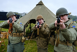 """Sunday 7th May 2017 East Fortune:  Wartime Experience at the National Museum of Flight, East Fortune.  Enactors from """"They Lead The Way"""".<br /> <br /> (c) Andrew Wilson 