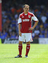 Bristol City's Neil Kilkenny - Photo mandatory by-line: Joe Meredith/JMP - Tel: Mobile: 07966 386802 13/07/2013 - SPORT - FOOTBALL - Bristol -  Bristol City v Glasgow Rangers - Pre Season Friendly - Bristol - Ashton Gate Stadium