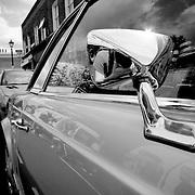 Shiny silver Mercedes, London, England (May 2007)