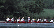 Lucerne, SWITZERLAND  GER W8+, 1992 FISA World Cup Regatta, Lucerne. Lake Rotsee.  [Mandatory Credit: Peter Spurrier: Intersport Images] 1992 Lucerne International Regatta and World Cup, Switzerland
