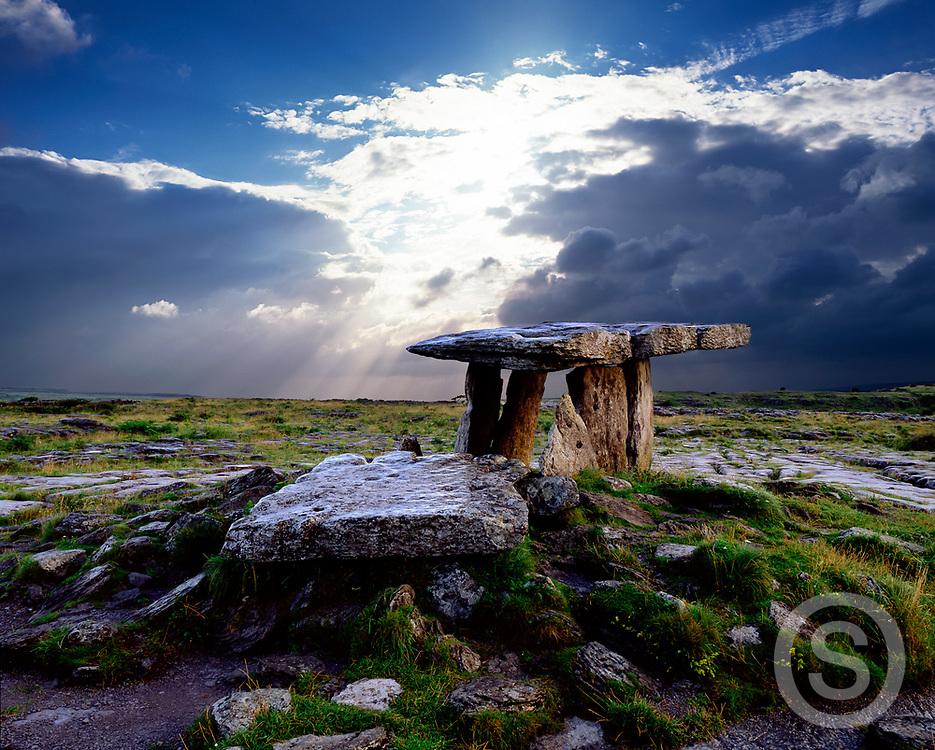 Photographer: Chris Hill, Poulnabrone Dolmen, Burren, Clare