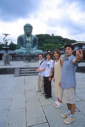 Tourists At Kamakura