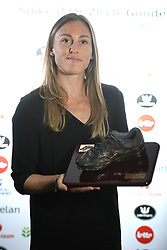 October 20, 2018 - Saint Trond, France - Eline Berings Spike Bronze Bronzen pictured during the ceremony of the Golden Spike Athletics Awards 2018 on October 20, 2018 in Sint-Truiden, Belgium, 20/10/2018 (Credit Image: © Panoramic via ZUMA Press)