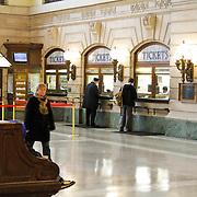 USA/New Yok/20120301 - New York, Amtrack treinstation Hoboken