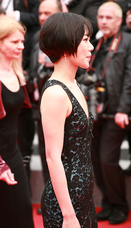 Doona Bae at the Foxcatcher gala screening red carpet at the 67th Cannes Film Festival France. Monday 19th May 2014 in Cannes Film Festival, France.