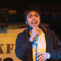 Frazier King  performing live at FrankFest, Jabez Clegg, Manchester, 2012-03-31