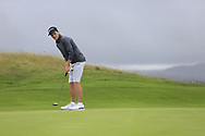 Aaron Edwards-Hill (Chlemsford) during the final of the North of Ireland Amateur Championship, Portstewart Golf Club, Portstewart, Antrim,  Ireland. 12/07/2019<br /> Picture: Golffile | Fran Caffrey<br /> <br /> <br /> All photo usage must carry mandatory copyright credit (© Golffile | Fran Caffrey)