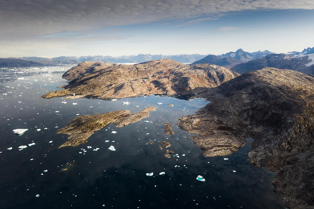 Sermilik Fjord in East Greenland