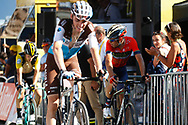 Vincenzo Nibali (ITA - Bahrain - Merida) during the 105th Tour de France 2018, Stage 11, Alberville - La Rosiere Espace Bernardo (108,5 km) on July 18th, 2018 - Photo Luca Bettini / BettiniPhoto / ProSportsImages / DPPI
