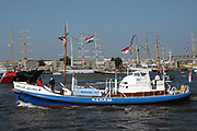 """DUTCH - Sail Amsterdam 2005. SAIL Amsterdam is een om de vijf jaar gehouden Nederlands maritiem evenement met de duur van 5 dagen.SAIL Amsterdam werd in 2005 van 17 tot en met 22 augustus voor de zevende keer gehouden in de Amsterdamse IJhaven en het Oostelijk Havengebied. Er kwamen 21 Tall ships en 600 historische zeil-, stoom- en motorboten naar het Amsterdamse IJ. Verder namen replica's, """"varend erfgoed"""" en marineschepen deel.////ENGLISH<br /> Sail Amsterdam 2005. SAIL Amsterdam is a Dutch maritime event held by the duration of five days.SAIL Amsterdam in 2005 is held from 17 to 22 August for the seventh time in the Amsterdam's Eastern Docklands and the IJ harbor. There were 21 and 600 historic Tall Ships sail, steam and motor boats on the Amsterdam IJ. Further names replicas, """"maritime heritage and naval vessels participated.<br /> <br /> Op de foto/On the Photo:<br /> <br /> De Neeltje Jacoba is een voormalige motorreddingsboot uit 1929. Het schip is in beheer van de stichting """"Neeltje Jacoba 1929"""" in Enkhuizen.<br /> In oktober 2003 kwam het schip in de publiciteit tijdens de affaire rond de toen nog verloofde, later vrouw van prins Johan Friso, Mabel Wisse Smit en de zware crimineel Klaas Bruinsma, dit tot ongenoegen van de huidige eigenaar en de KNRM. Wisse Smit werd verweten dat zij aan boord van het schip met Bruinsma zou hebben geslapen."""
