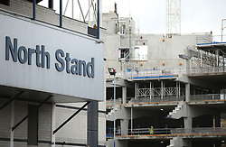 File photo dated 26-02-2017 of building works at the new Tottenham Hotspurs stadium next to White Hart Lane, London.