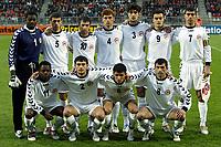 Fotball, EM kvalifisering, Nederland - Armenia , seizoen 2004-2005 ,  jong oranje - armenie , tilburg , 29-03-2005 .   edel apoula-edima-bete , veleri aleksanyan , artur stepanyan , mikhel simonyan , samvel melkonyan , levon pachajyan , ararat arakelyan , hratch vardazaryan , aleksander petrosyan , mkhitar grigoryan , karl lombe .