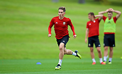 CARDIFF, WALES - Friday, September 7, 2018: Wales' Harry Wilson during a training session at the Vale Resort ahead of the UEFA Nations League Group Stage League B Group 4 match between Denmark and Wales. (Pic by David Rawcliffe/Propaganda)