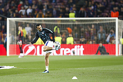 March 14, 2018 - Barcelona, Catalonia, Spain - Chelsea FC forward Pedro (11) before UEFA Champions League match between FC Barcelona and Chelsea FC at Camp Nou Stadium corresponding of Round of 16, Second leg on March 14, 2018 in Barcelona, Spain. (Credit Image: © Urbanandsport/NurPhoto via ZUMA Press)