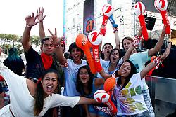 Os primeiros planetários no segundo dia de festa do Planeta Atlântida 2013/SC, que acontece nos dias 11 e 12 de janeiro no Sapiens Parque, em Florianópolis. FOTO: Emmanuel Denaui/Preview.com