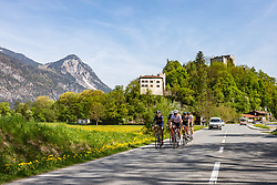25.04.2018, St. Gertraudi, AUT, ÖRV Trainingslager, UCI Straßenrad WM 2018, im Bild Stefan Denifl (AUT), Thomas Rohregger (AUT) // during a Testdrive for the UCI Road World Championships in St. Gertraudi, Austria on 2018/04/25. EXPA Pictures © 2018, PhotoCredit: EXPA/ JFK
