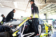 January 22-26, 2020. IMSA Weathertech Series. Rolex Daytona 24hr. #14 AIM Vasser Sullivan Lexus RC F GT3 mechanic