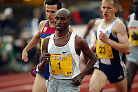 Friidrett, 12 juni 2004, Bergen Bislett Games, Golden League,  Bernard Lagat, Kenya, 1500 meter