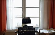 Nederland, Nijmegen, 19-2-2013De rolstoel van een terminale patient, vrouw.Foto: Flip Franssen
