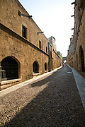 Ippoton, Street of the Knights, Old town, Rhodes, Greece