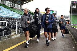 Bristol Bears players arrive at the Stoop - Mandatory byline: Patrick Khachfe/JMP - 07966 386802 - 26/10/2019 - RUGBY UNION - The Twickenham Stoop - London, England - Harlequins v Bristol Bears - Gallagher Premiership