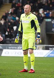 St Mirren Craig Samson during the Ladbrokes Scottish Premier League match at St Mirren Park, St Mirren.