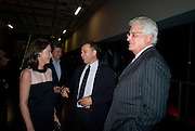 DR. CORINNE FLICK; VICENTE TODOLI;  GERT RUDOLPH FLICK.  Mark Rothko private view. Tate Modern. 24 September 2008 *** Local Caption *** -DO NOT ARCHIVE-© Copyright Photograph by Dafydd Jones. 248 Clapham Rd. London SW9 0PZ. Tel 0207 820 0771. www.dafjones.com.