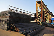 "Israel, Haifa Bay Industrial zone, a steel and iron recycling complex ""Chod Matachot"" Near Aco, May 22, 2010, ."