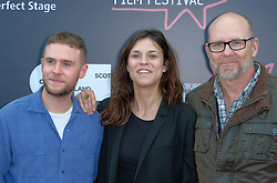 Edinburgh International Film Festival, Thursday, 21st June 2018<br /> <br /> Jury Photocall<br /> <br /> Pictured:  Iain De Caestecker, Ana Ularu and Jason Connery of the Michael Powell Jury<br /> <br /> (c) Alex Todd | Edinburgh Elite media