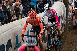 KAY Anna (GBR) during Women Elite race, 2019 UCI Cyclo-cross World Cup Heusden-Zolder, Belgium, 26 December 2019. <br /> <br /> Photo by Pim Nijland / PelotonPhotos.com <br /> <br /> All photos usage must carry mandatory copyright credit (Peloton Photos   Pim Nijland)