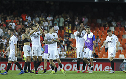 August 20, 2018 - Player of Valencia during the spanish league, La Liga, football match between ValenciaCF and Atletico de Madrid on August 20, 2018 at Mestalla stadium in Valencia, Spain. (Credit Image: © AFP7 via ZUMA Wire)