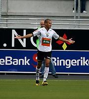 Fotball <br /> Adeccoligaen<br /> AKA Arena , Hønefoss <br /> 12.07.09<br /> Hønefoss BK  v  Moss FK  6-0<br /> <br /> Foto: Dagfinn Limoseth, Digitalsport<br /> Kamal Saaliti  , Hønefoss