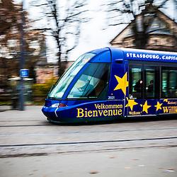 Strasbourg tramway.