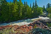 Rainbow Falls <br />Rainbow Falls Provincial Park<br />Ontario<br />Canada
