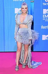 Margaret attending the MTV Europe Music Awards 2018 held at the Bilbao Exhibition Centre, Spain. Photo credit should read: Doug Peters/EMPICS