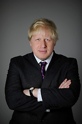 Portraits of the London Mayor Boris Johnson during his Mayoral Campaign, Friday March 30, 2012. Photo By Andrew Parsons/I-images