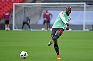 Danilo during the Portugal training session at Wembley Stadium, London, England on 1 June 2016. Photo by Jon Bromley.