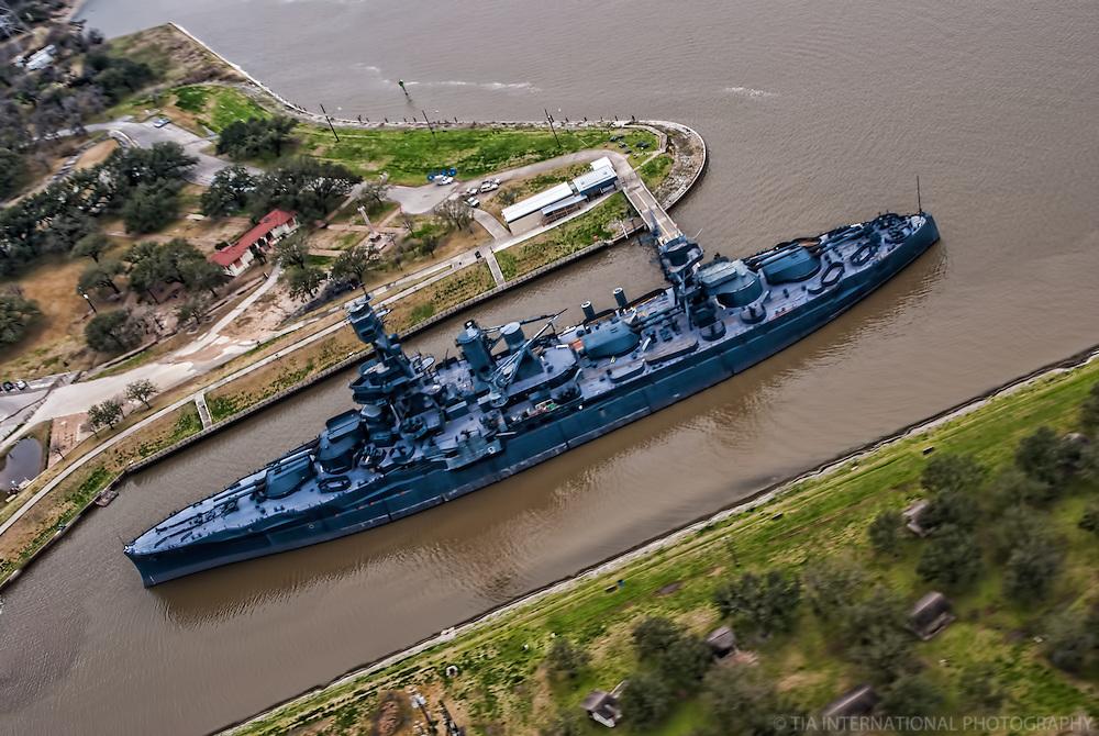 Battleship Texas (a.k.a. USS Texas), San Jacinto Battleground