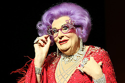 © Licensed to London News Pictures. 13/11/2013, UK. Dame Edna Everage in Barry Humphries Farewell Tour, The London Palladium, London UK, 13 November 2013. Photo credit : Richard Goldschmidt/Piqtured/LNP
