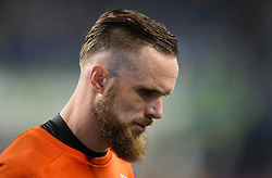 November 30, 2017 - Seattle, Washington, U.S - Soccer 2017: Sounder goalkeeper STEFAN FREI (24) gets focused during pregame as the Houston Dynamo play the Seattle Sounders in the 2nd leg of the MLS Western Conference Finals match at Century Link Field in Seattle, WA. (Credit Image: © Jeff Halstead via ZUMA Wire)