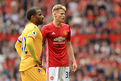 21 May 2017 - Premier League Football - Manchester United v Crystal Palace - Scott McTominay of Manchester United - Photo: Paul Roberts / Offside