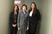 SHOT 12/4/19 11:13:25 AM - McGuane & Hogan, P.C., a Colorado family law firm located in Denver, Co. Includes attorneys Kathleen Ann Hogan, Halleh T. Omidi and Katie P. Ahles. (Photo by Marc Piscotty / © 2019)