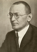'Herman Hesse (1877-1962) German-born Swiss poet, novelist and painter. Awarded the Nobel Prize for Literature in 1946.'