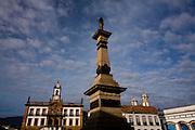 Ouro Preto_MG, Brasil...Praca Tiradentes e o museu da Inconfidencia em Ouro Preto...Tiradentes square and Inconfidencia museum in Ouro Preto...Foto: LEO DRUMOND / NITRO.