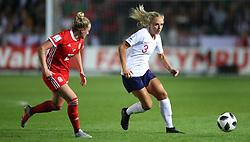 England Women's Alex Greenwood (right)