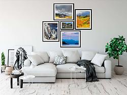 Idaho Fine Art Print Display